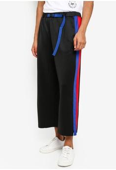 ec8369de1 Just Hype black Hype Sporting Wide Pants 07B6DAACC6D118GS_1