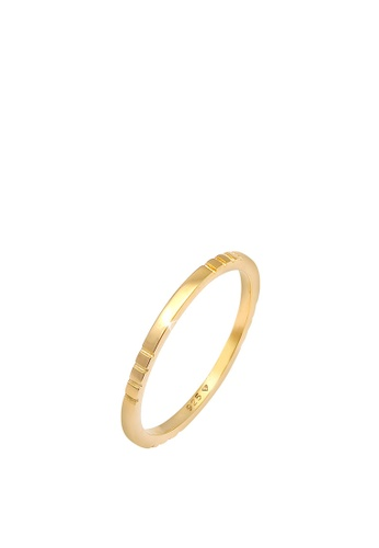 ELLI GERMANY gold Stacking Trend Gold Plated Ring C2CBCACF3F3CE1GS_1