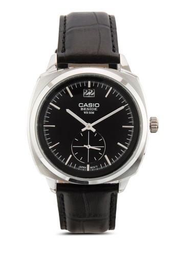 BEM-1esprit門市地址50L-1AVDF 真皮男士手錶, 錶類, 飾品配件