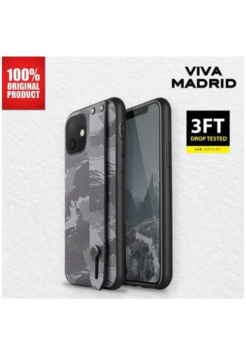 Viva Madrid grey Casing iPhone 11 Camou Stand Case Viva Madrid - Grey 94DB2ESDCBAC29GS_1