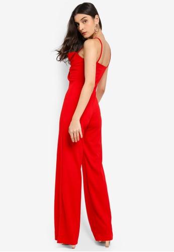 373e7d8e6f1c Shop MISSGUIDED Bow Detail Jumpsuit Online on ZALORA Philippines
