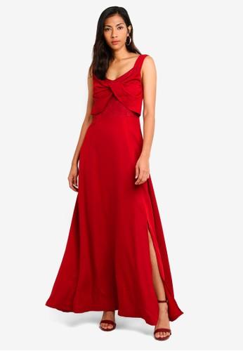 Megane purple Red Romance Mireille Long Dress 0851EAA6BC43D3GS_1