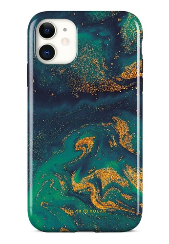 Polar Polar green Green Night Quicksand Dual-Layer Tough Case Glossy For iPhone 11 7082CAC110922DGS_1