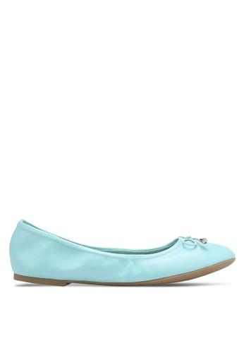 Bata blue Ballerina Flats BA156SH0RCUYMY_1