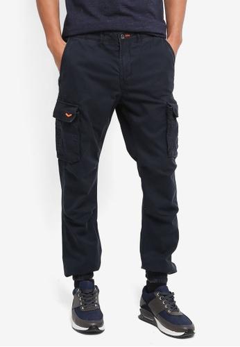 Superdry navy Rookie Grip Cargo Pants D96C0AA208B1E1GS_1