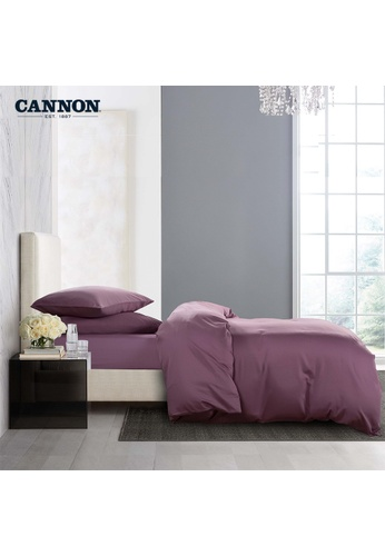 CANNON CANNON Morrison Crocetta - Dusky Orchid (Fitted Sheet Set). F1C29HLEBA1548GS_1