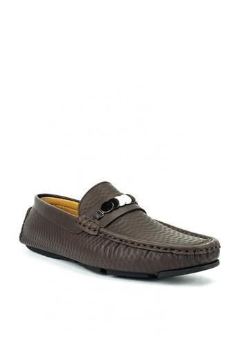 Mario D' boro Runway brown Diego Casual Shoes 7EF8ASH4F261B9GS_1