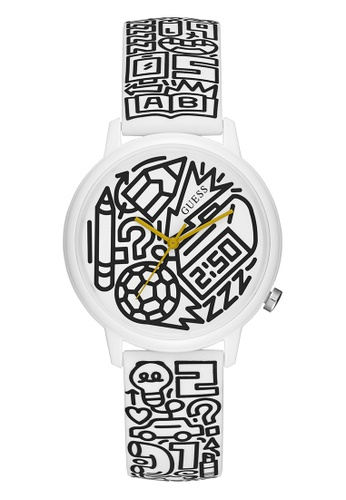 Guess Watch white Charity Watch (Pencils of Promise)-V0023M9 FB3FBAC7360D07GS_1