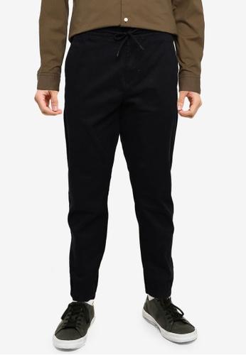 Timberland black Lovell Stretch Twill Tapered Jogger Pants C2055AAAFFB2B7GS_1
