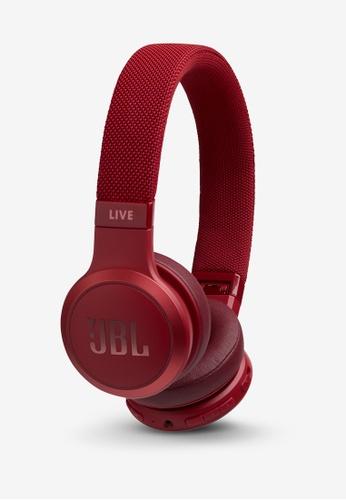 JBL red JBL LIVE 400BT Wireless On-Ear Headphones 1A6BAAC9CCBE41GS_1