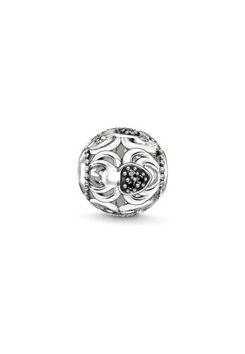 "THOMAS SABO silver Bead ""black spider"" A236AAC50C124AGS_1"