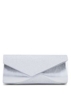 088eee1f4b18 Unisa silver Duo Textured Dinner Clutch UN821AC89FFEMY 1