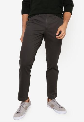 GAP black Slim Fit Khaki Trousers 28BE3AA6B7729AGS_1