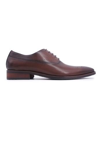 Rad Russel brown Rad Russel + Simon Carter Lace-up Oxford - Brown A9568SHC300795GS_1