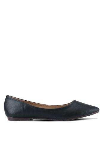 Spiffy black Casual Wear Flats SP352SH0SRXBMY_1