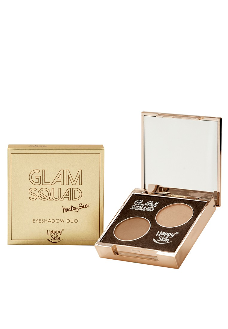 Glam Squad Eyeshadow Duo by Mickey See