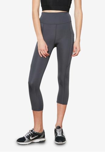 Trendyol grey Side Pocket Sports Leggings 49F19AA676F584GS_1