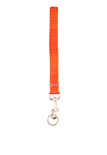 Stoned & Co orange Stoned & Co. Structured Lanyard Orange C9A10ACB2ACB2CGS_1