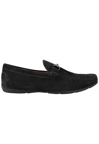 Tomaz black Tomaz C388 Buckled Moccasins (Black) 62278SH2D1A8D2GS_1