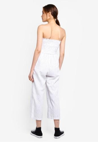 cba193f7e6 Buy Abercrombie & Fitch Strapless Smocked Jumpsuit | ZALORA HK
