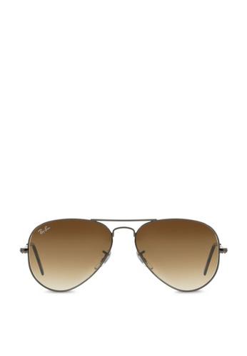 ray-ban Aviator Large Metal RB3025 Sunglasses RA370GL45SACSG_1