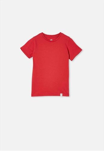 Cotton On Kids red Core Short Sleeve Tee 314FCKAC46C38FGS_1