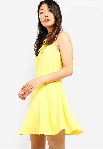 Something Borrowed 黃色 Relaxed Mini Collared Dress 02537AAD58073AGS_1