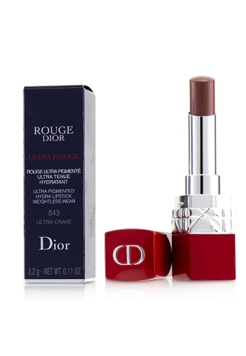 christian dior CHRISTIAN DIOR - Rouge Dior Ultra Rouge - # 843 Ultra Crave 3.2g/0.11oz 664C1BE9A70269GS_1