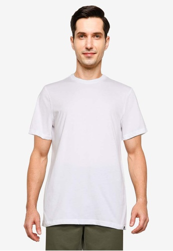SUPERDRY white The Standard Label Tee 1535BAA0F7D1CBGS_1