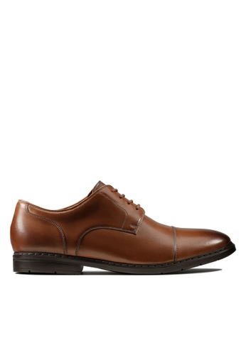 En el piso el último cocina  Buy Clarks CLARKS Men Banbury Walk British Tan Leather Shoes Online |  ZALORA Malaysia