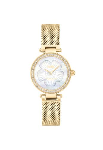 Coach white Coach Park White Mother Of Pearl Women's Watch (14503512) CE844AC07A8E73GS_1