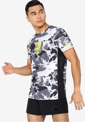 LC Waikiki grey Standard Fit Crew Neck Sport T-Shirt CD6C7AA875863FGS_1
