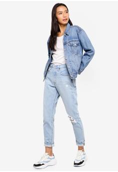 b6534827272 Levi s Ex-Boyfriend Trucker Jacket HK  899.00. Sizes M · Levi s blue 710  Super Skinny Jeans CFF7DAA9873DA8GS 1
