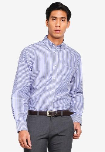 OVS 多色 經典長袖襯衫 B89F0AA3BB110BGS_1