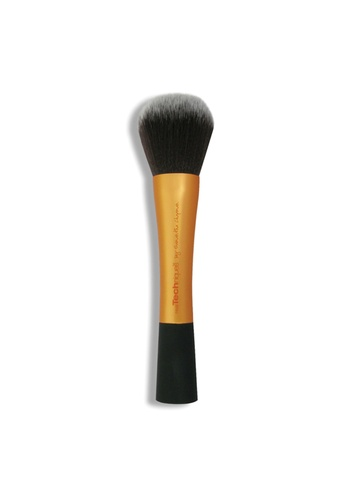 Real Techniques orange and gold Real Techniques Powder Brush RE615BE19LKMSG_1