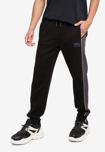 GUESS black Wyatt Pants A38A6AA42EBB7CGS_1