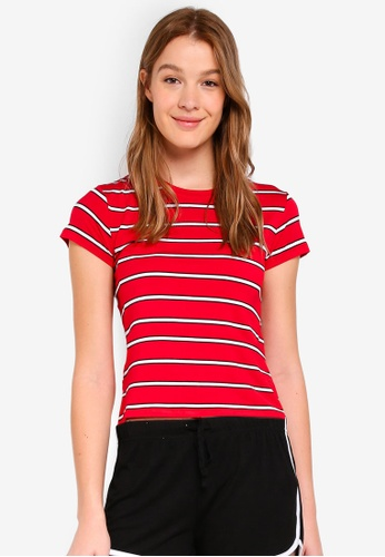 Cotton On red The Baby Tee 1C395AAD7FE8ABGS_1