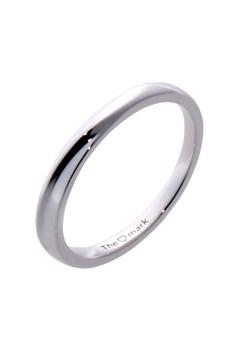 Criss Cross Silver Ring for Men lr0042m
