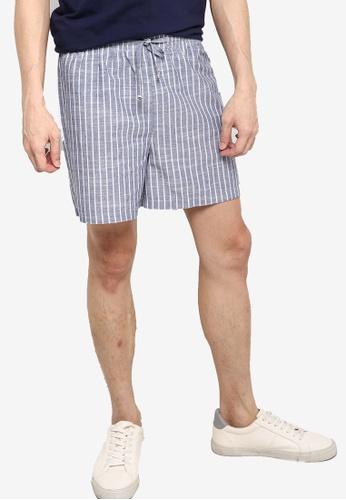 ZALORA BASICS multi Drawstring Linen shorts EBA45AAA018925GS_1