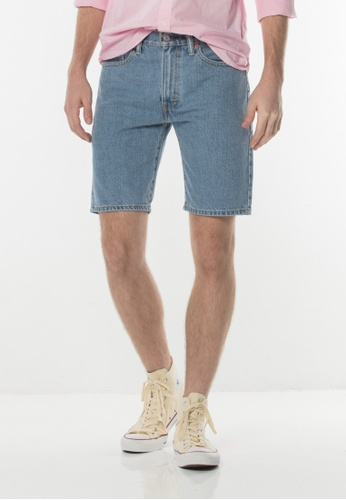 Levi's blue Levi's 505 Regular Fit Shorts 796F3AA7E68E55GS_1