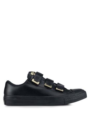 Converse black Chuck Taylor All Star 3V Sneakers 4A021SH874E777GS_1