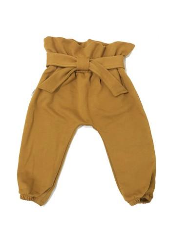 Mon Cheri brown Mon Cheri Cullote Anak Perempuan Mustard 235B0KA4311583GS_1