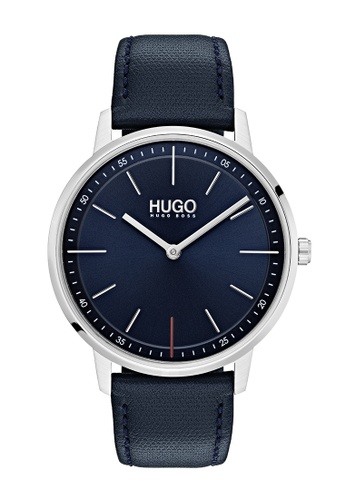 Hugo Boss blue HUGO Exist Blue Unisex Watch (1520008) 46A3AACC1ADD3BGS_1
