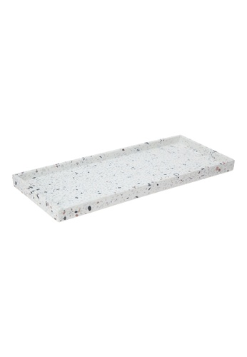 JVD JVD Lifestyle Terrazzo rectangle amenity Tray EF7A2HL7B3A786GS_1