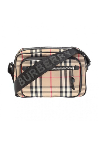 Burberry brown Burberry Vintage Check Crossbody Bag in Archive Beige 52A49AC1E1BA9DGS_1