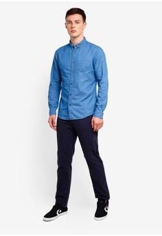b07bff9099 10% OFF Burton Menswear London Mid Wash Long Sleeve Denim Shirt S  49.90  NOW S  44.90 Sizes XS S M L XL
