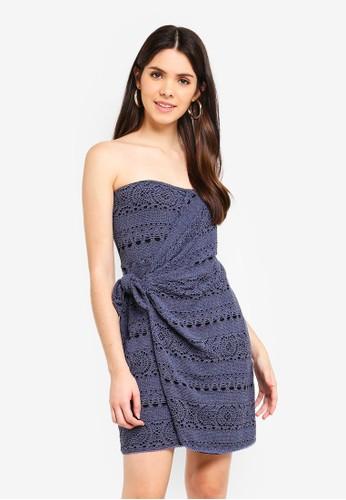 Free People blue Oceanside Mini Dress 888CAAAB9B819FGS_1