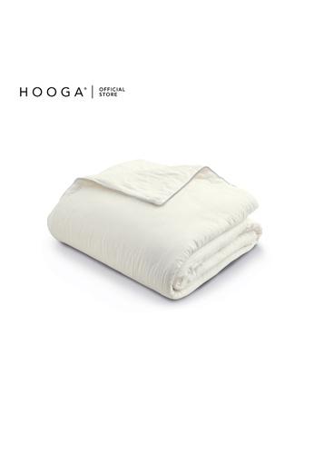 HOOGA white Hooga Pure Cotton Quilt Claudia 8CA88HL2CC912AGS_1