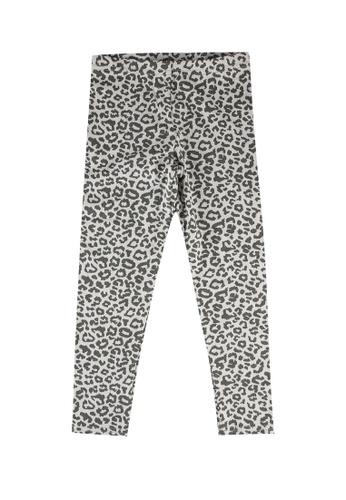 FOX Kids & Baby grey Girls All Over Leopard Print Leggings 4B216KA1AD606AGS_1