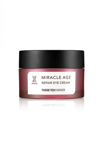 Thank You Farmer white THANK YOU FARMER Miracle Age Repair Eye Cream 20g TH577BE05MRUMY_1
